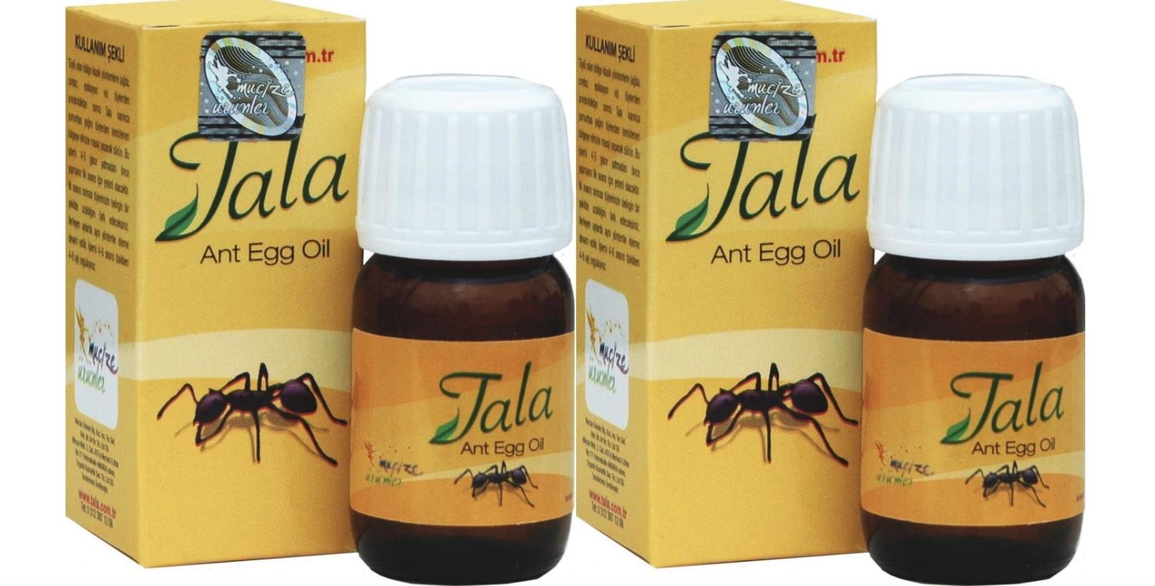 2 bottles ant egg oil